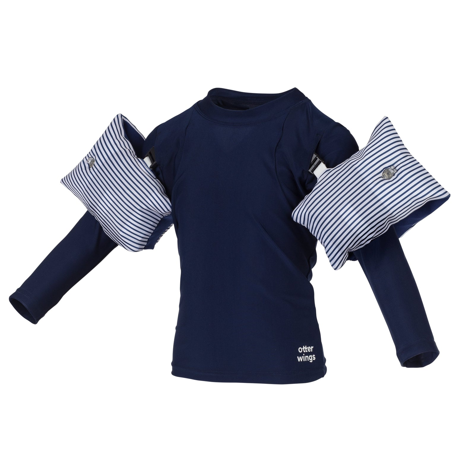 otter wings | Navy Blue | Long Sleeve