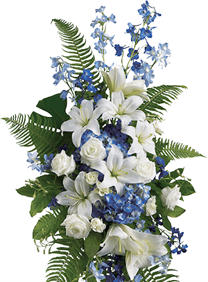 Blue and White Tribute