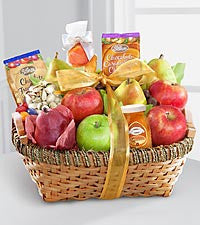 Fruit and Gourmet and Basket