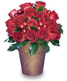 Bling Blang Holiday Roses