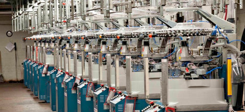 State-of-the-art knitting machines - Photo by Ned Leary