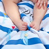 Play water resistant cotton Swaddle Mat - Dreamer