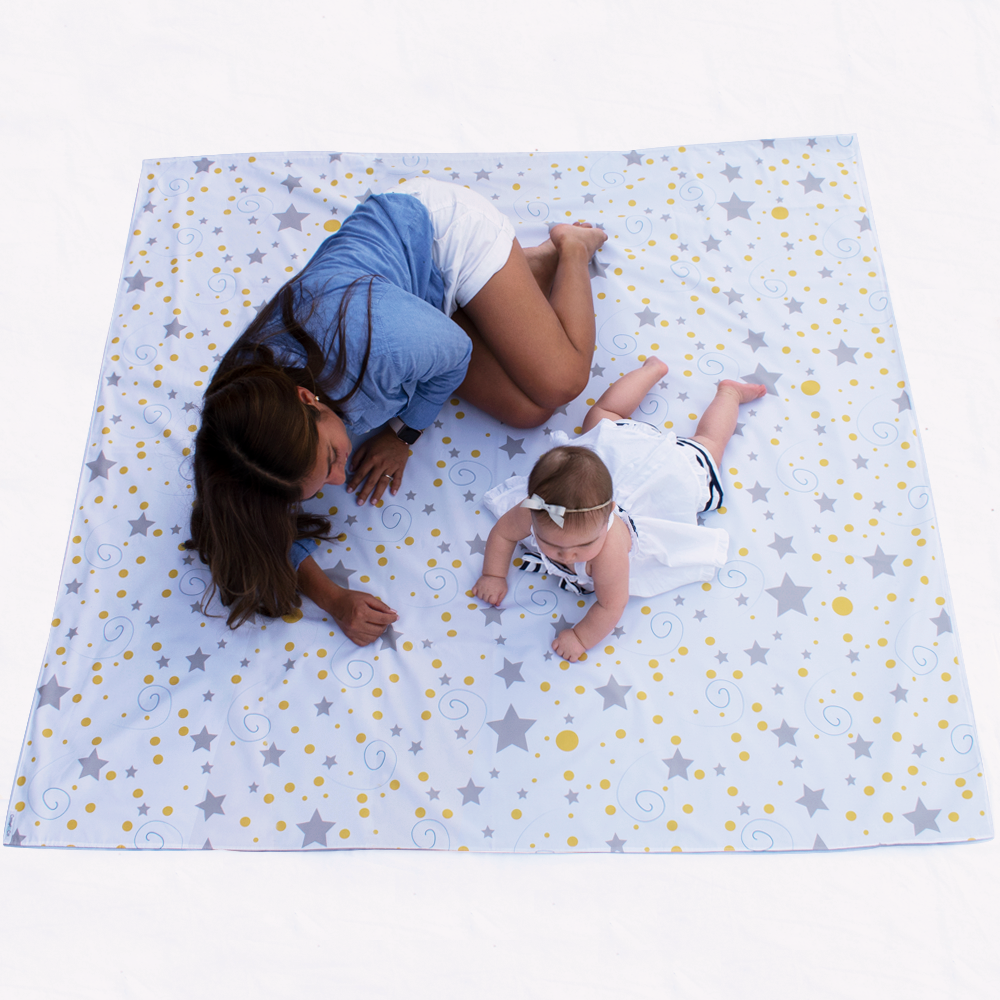 Star Swaddle Mat - Family