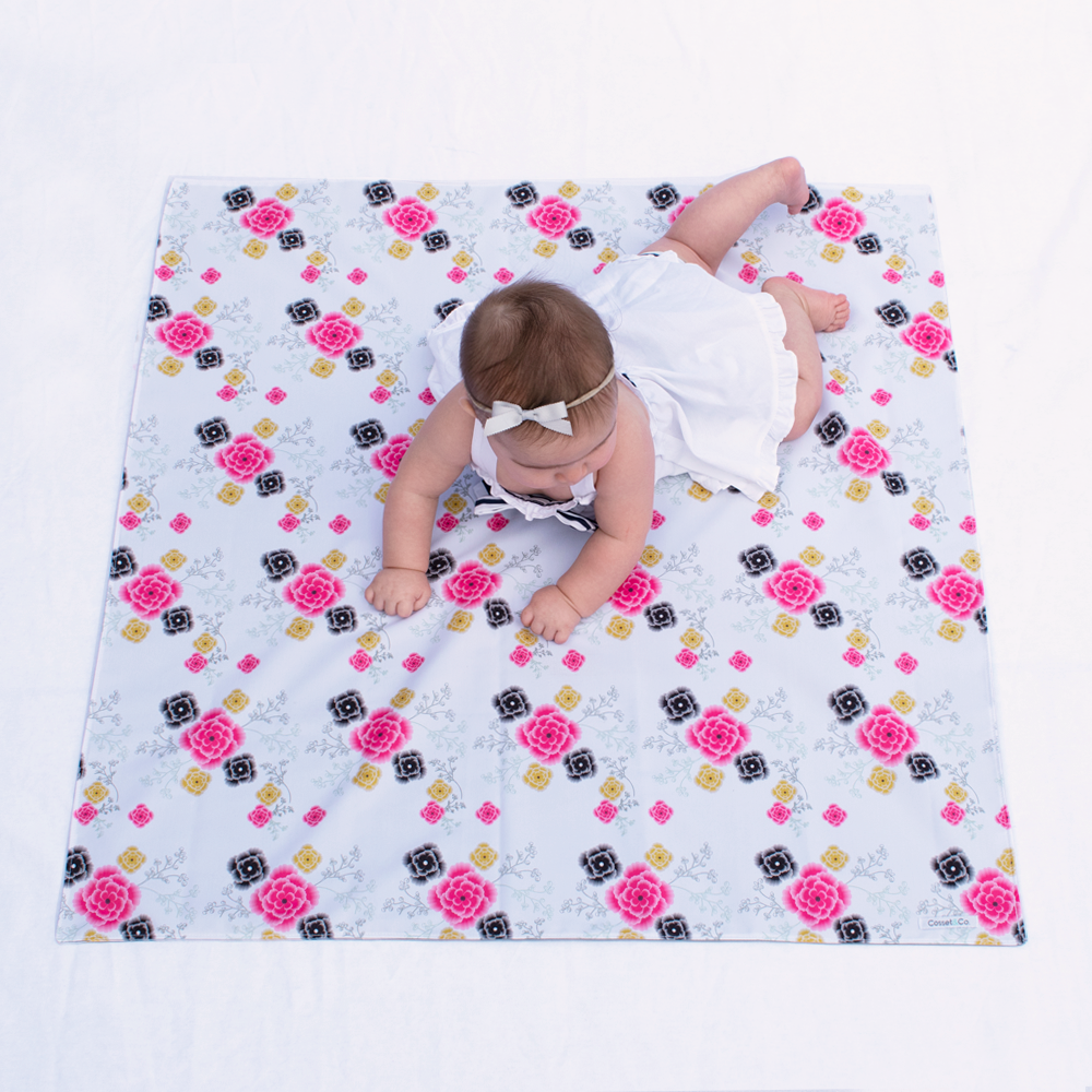 Flower Swaddle Mat - Small