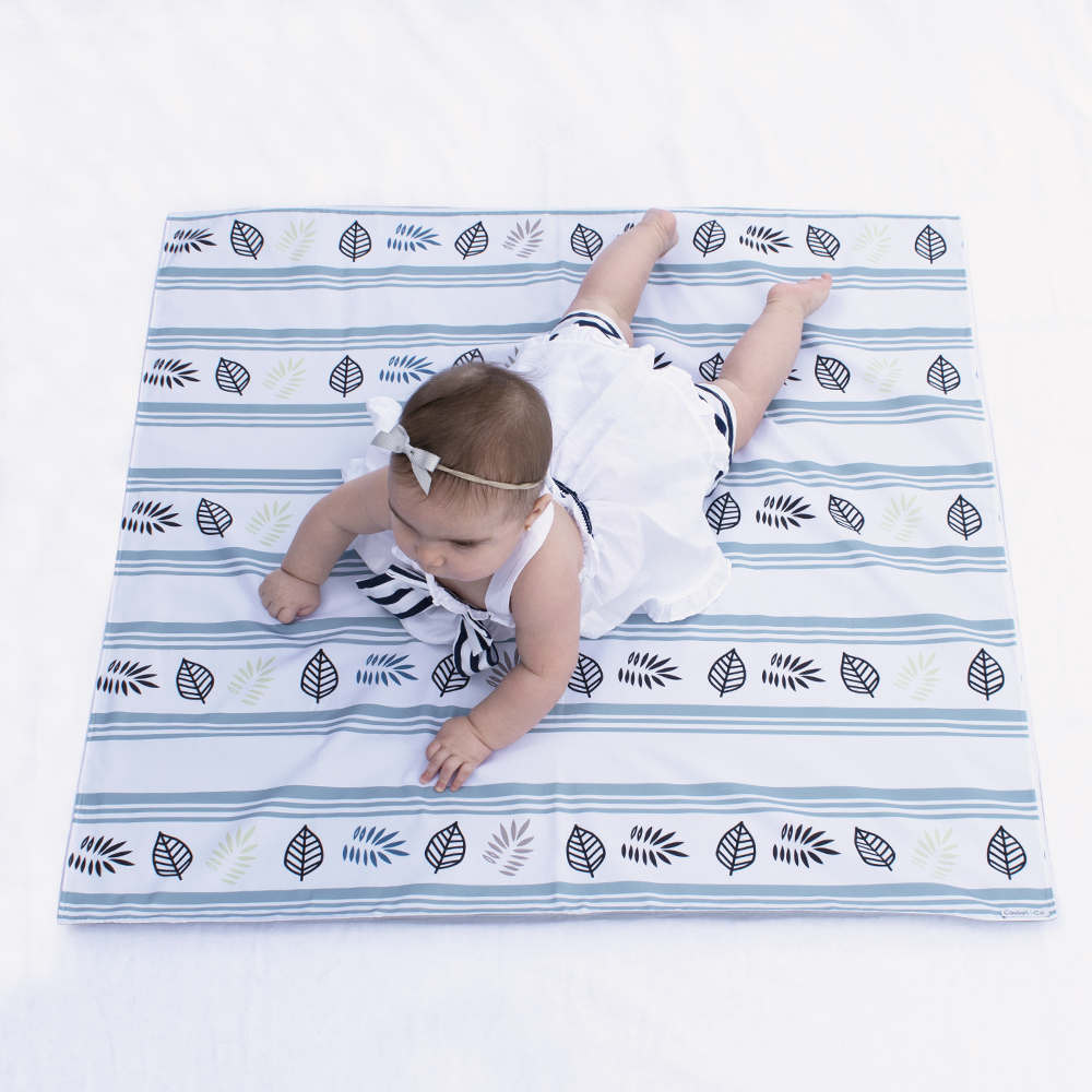 Leaf Swaddle Mat - Small