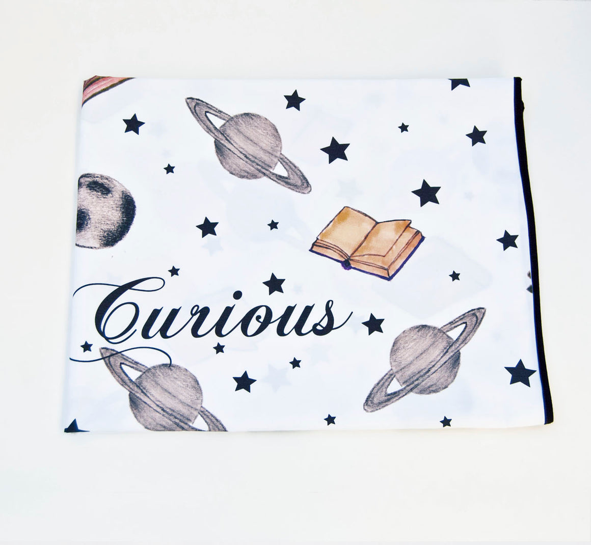 Play water resistant cotton Swaddle Mat - Curious