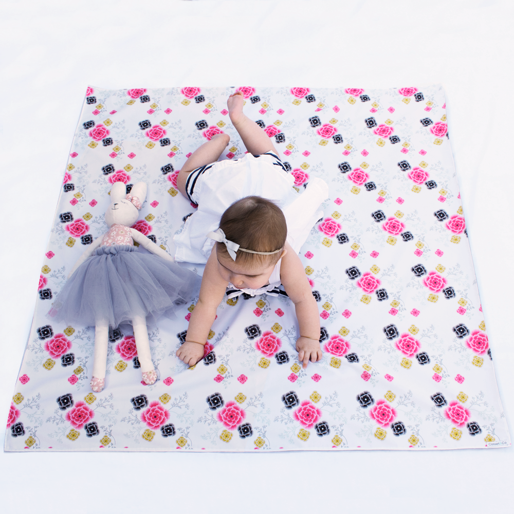Flower Swaddle Mat - Medium