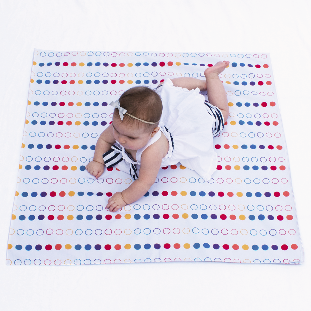 Rainbow Swaddle Mat - Small