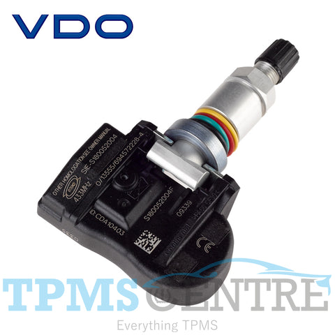 Continental OEM VDO TG1C Clamp In Replacement TPMS Sensor S027