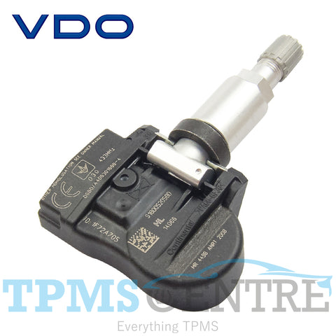 VDO TG1C Clamp In Replacement TPMS Tyre Pressure Sensor 433Mhz