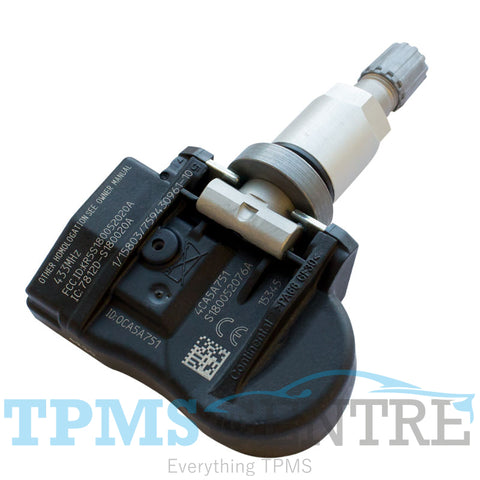 Continental OEM VDO TG1C Clamp In Replacement TPMS Sensor S185