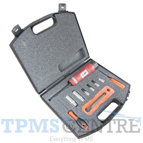 Tool kit for replacing or servicing TPMS sensors