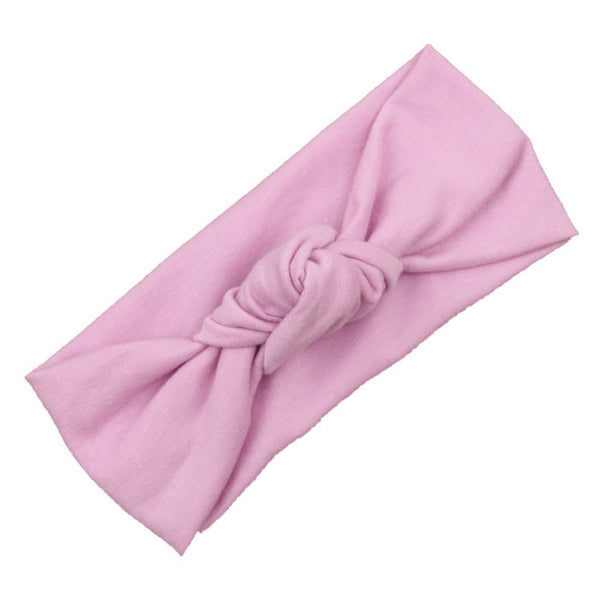 Baby Garment Accessories - Girls Hairband Turban, 9 Colors