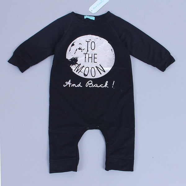 Baby Rompers - To The Moon Romper, K&B