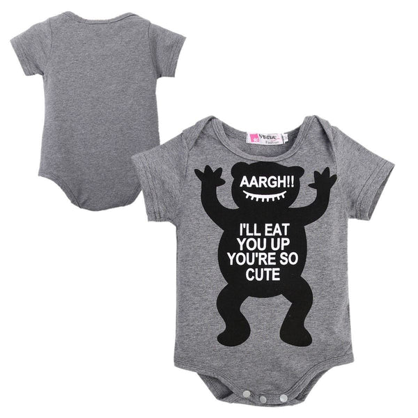 Bodysuits - Little Monster Bodysuit, K&B