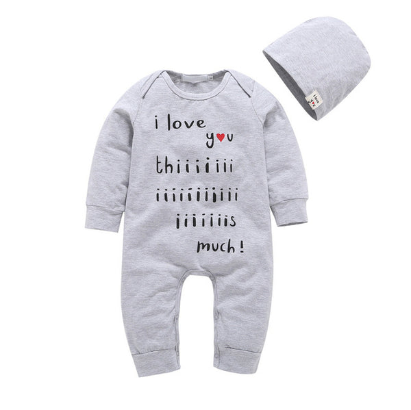 I Love You Baby Set