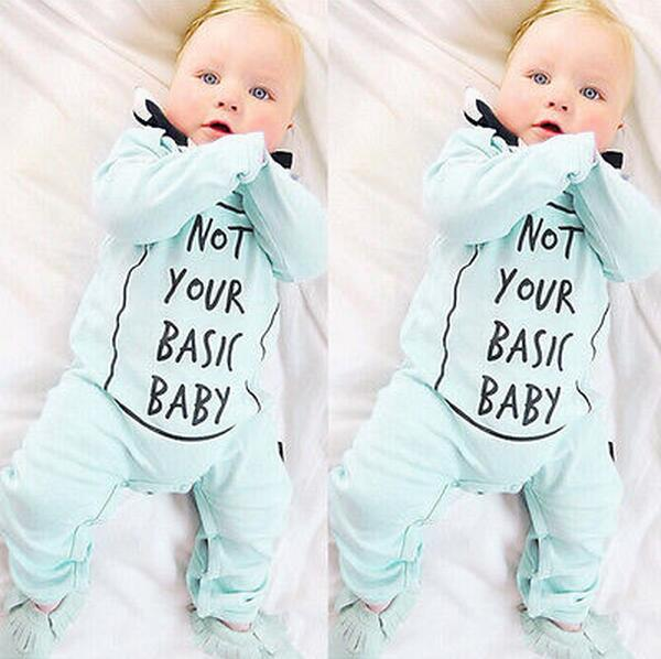 Not Your Basic Baby Romper