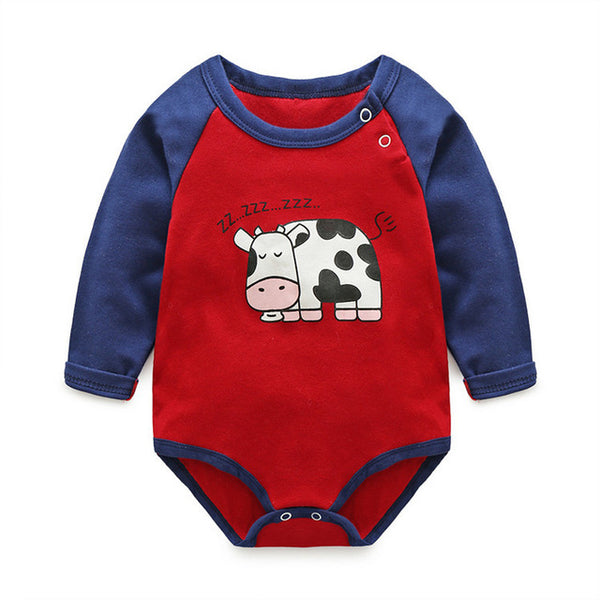 Star/Cow Romper
