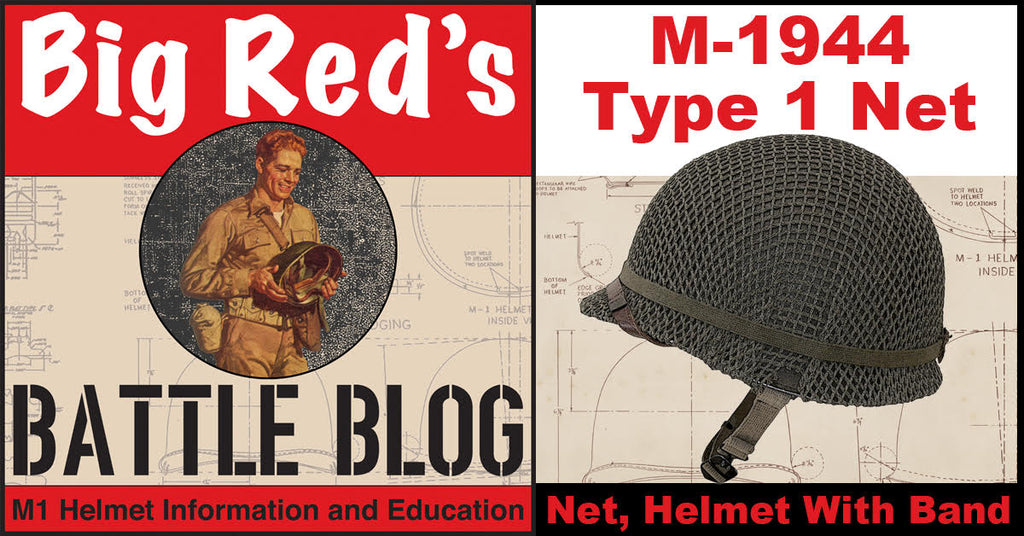 Helmet Net With Band September 1944 to August 1945
