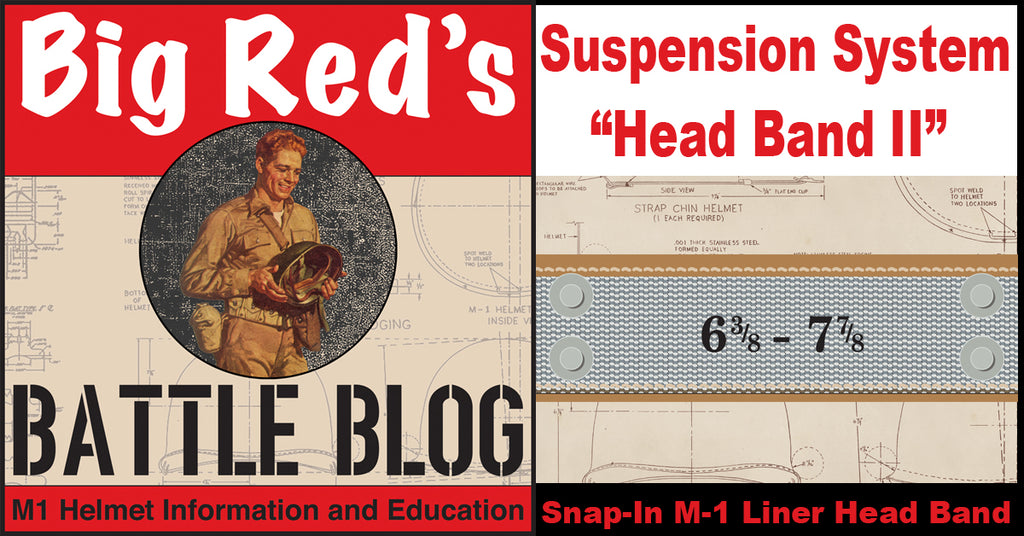 "M-1 Liner Suspension System ""Snap-In Head Band II"""