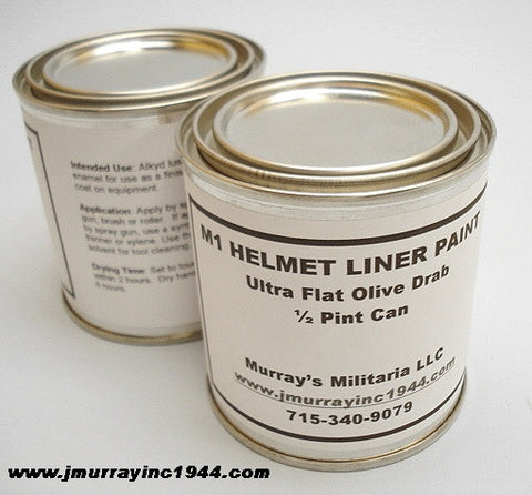 1/2 Pint Helmet Liner Paint