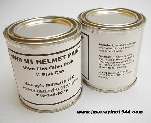 1/2 Pint Helmet Paint