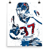 CJ Fiedorowicz Houston Texans Poster - PixArtsy