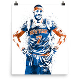 Carmelo Anthony New York Knicks Poster - PixArtsy