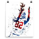 Mario Manningham New York Giants Poster - PixArtsy