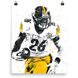Le'Veon Bell Pittsburgh Steelers Poster - PixArtsy