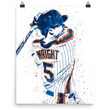 David Wright New York Mets Poster - PixArtsy