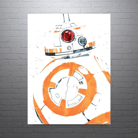 Star Wars BB8 Poster - PixArtsy - 1