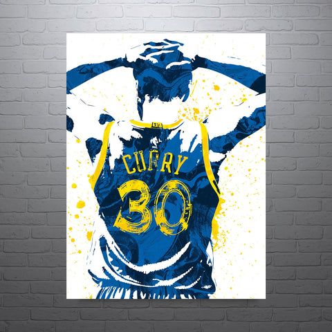 Stephen Curry Golden State Warriors Poster - PixArtsy - 1