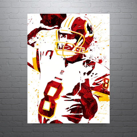 Kirk Cousins Washington Redskins Poster - PixArtsy - 1