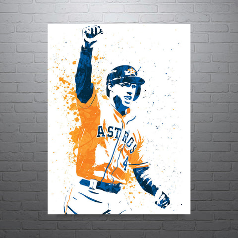 George Springer Houston Astros Poster - PixArtsy - 1