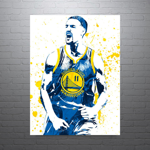 Klay Thompson Golden State Warriors Poster - PixArtsy - 1