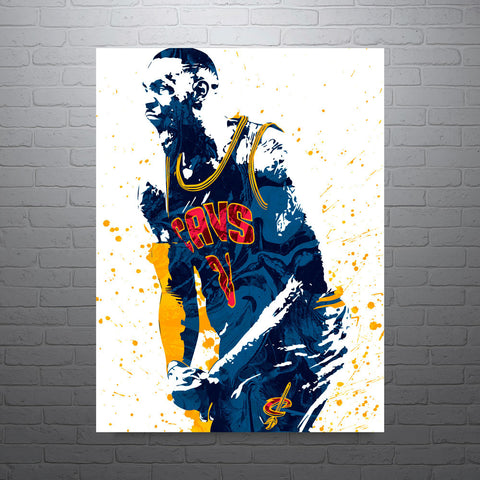 LeBron James Cleveland Cavaliers Poster - PixArtsy - 1
