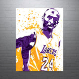 Kobe Bryant Los Angeles Lakers Poster - PixArtsy