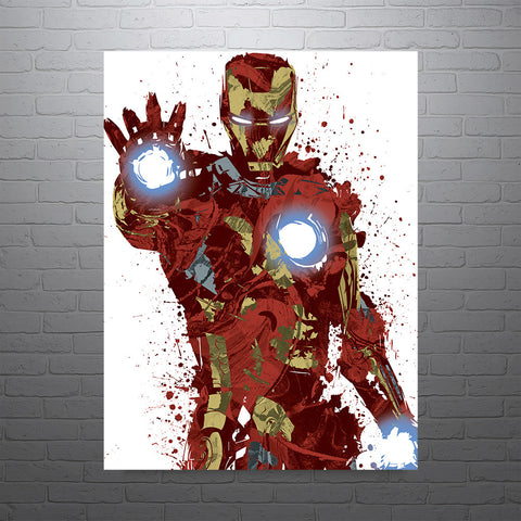 Civil War Iron Man Poster - PixArtsy
