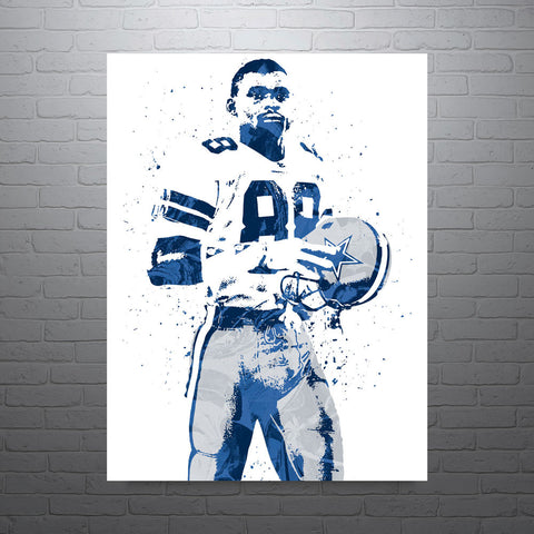 Michael Irvin Dallas Cowboys Poster - PixArtsy