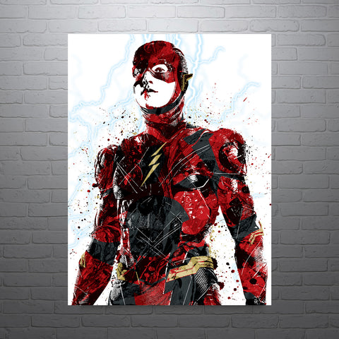 The Flash DC Poster - PixArtsy