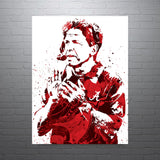 Nick Saban University of Alabama Crimson Tide Poster - PixArtsy
