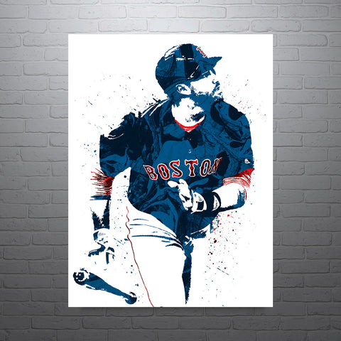 JD Martinez Boston Red Sox Poster - PixArtsy