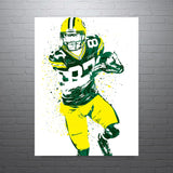 Jordy Nelson Green Bay Packers Poster - PixArtsy