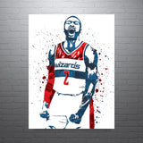 John Wall Washington Wizards Poster - PixArtsy