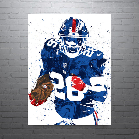 fe1b508248b ... Print Personalized Select ANY Name & ANY Number. $ 40 · Saquon Barkley  New York Giants Poster - PixArtsy