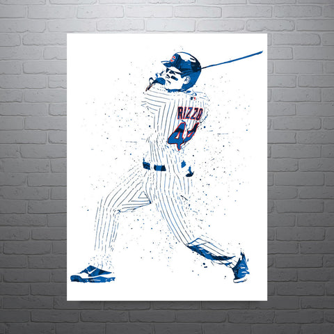 Anthony Rizzo Chicago Cubs Poster - PixArtsy