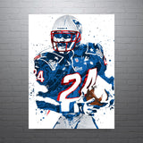 Ty Law New England Patriots Poster - PixArtsy