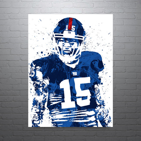 Brandon Marshall New York Giants Poster - PixArtsy