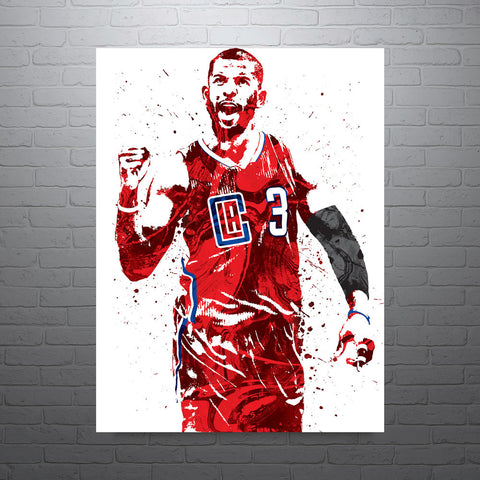 Chris Paul CP3 Los Angeles Clippers Poster - PixArtsy - 1